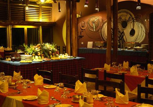 Amboseli Serena Dinner