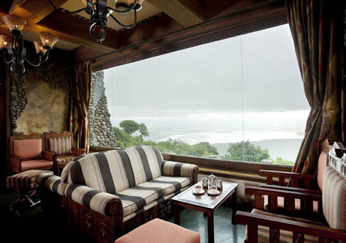 Ngorongoro Serena Lodge lounge