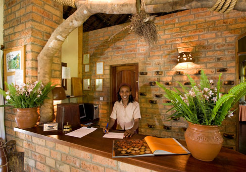 Moivaro Lodge reception