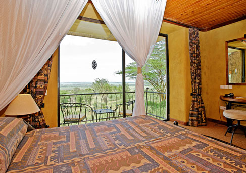 Serengeti Sopa Lodge guest room