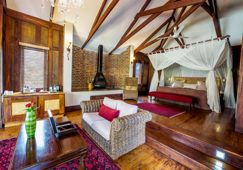Arusha coffee lodge plantation room