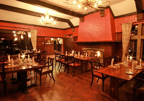 Aberdare Country Club dinner room
