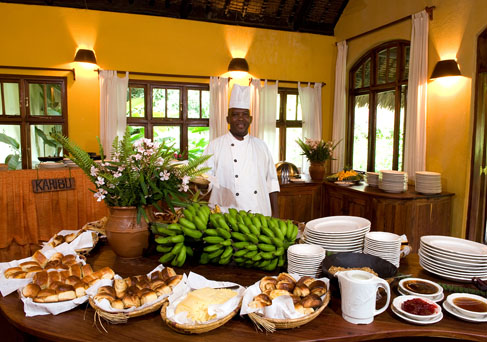 Moivaro Lodge breakfast