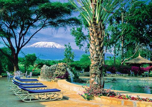 Amboseli Sopa with Mt. Kilimanjaro background