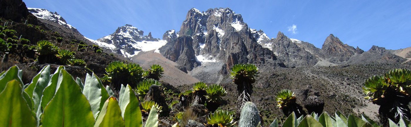 Mount Kenya ascent