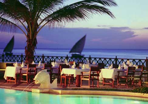 Zanzibar Beach Sunset