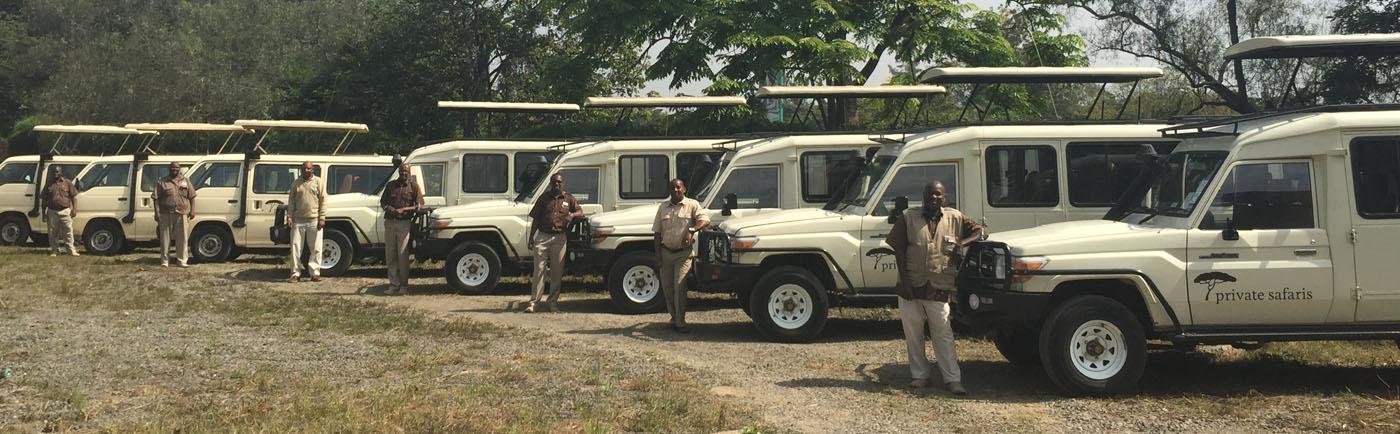 Private Safaris EA Vans