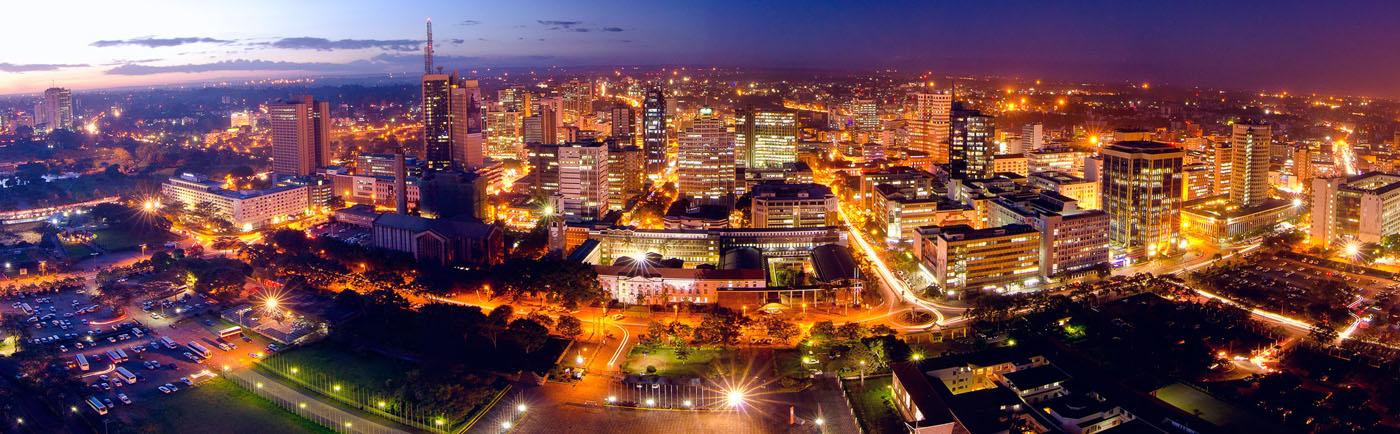Nairobi night sky