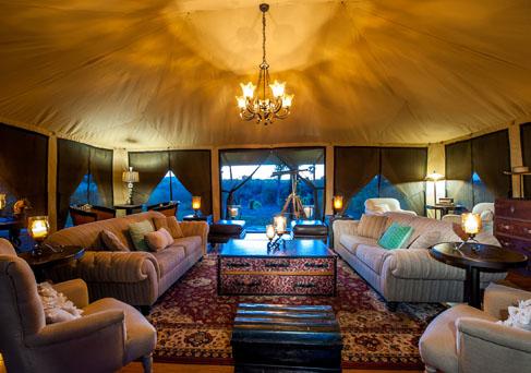 Sand River Masai Mara lounge
