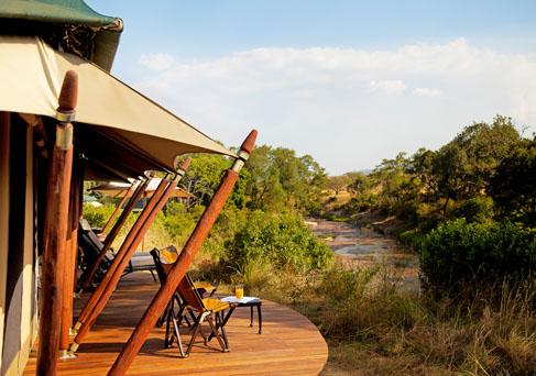 Sand River Masai Mara tent view