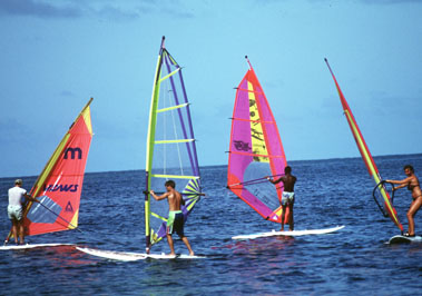Kite & Wind Surfing on Kenyan Coastline