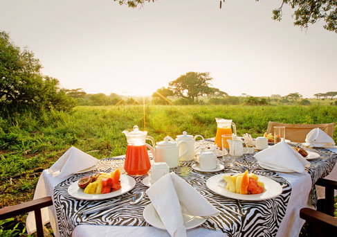 Mara Leisure breakfast