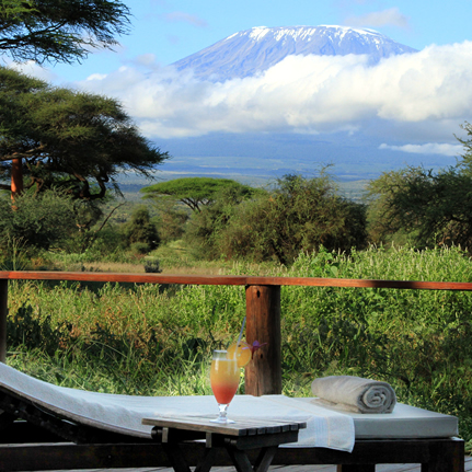 Amboseli National park short safari