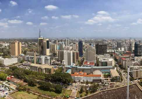 Nairobi City skyline