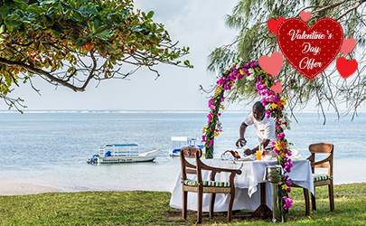 Serena Beach Resort Valentines